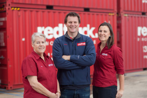 Owners David Seehusen and Rosie Jones and Operations Manager Trish Thomas
