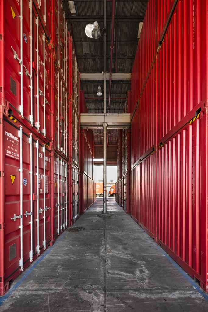 Red Truck Removals and Storage - Commercial Photography of the B